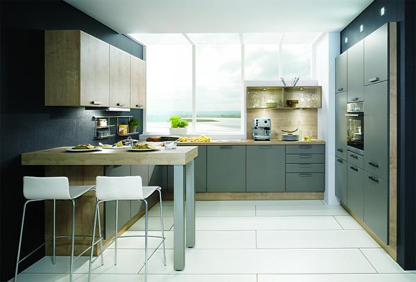 Ed kuchyn pr vodce v b rem barev do kuchyn - Cuisine 2 couleurs ...